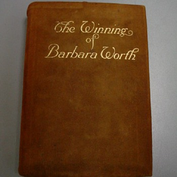 """Optional"" Leather Dust Jacket on 1911 First Edition Book"