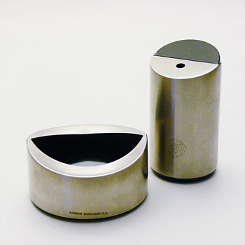 PRESIDENT ashtray and lighter, André Ricard (1966) - Tobacciana