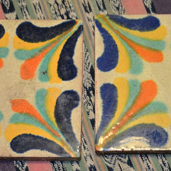 Beautiful six inch tiles - California?! - Pottery