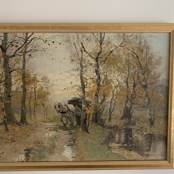 Interesting painting.  - Fine Art