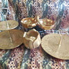 Vintage Stangl Pottery Granada Gold Pieces For Saint Patrick's Day! :^D