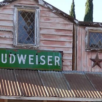 Budweiser sign - Signs