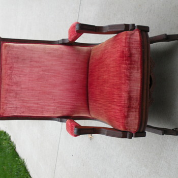 Not sure if this is an authentic Eastlake chair or not -  - Furniture