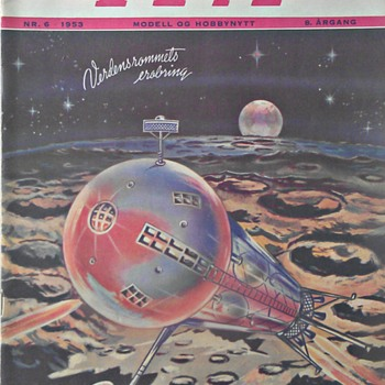 Norwegian Magazine: Technology For Everyone, 1953
