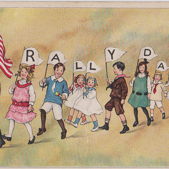 Rally Day Postcard 1915 - Postcards