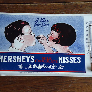 Hershey's Advertising Thermometer(Seeking info on
