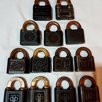 My Push Key Padlock collection