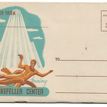 Advertising Letter Booklet, Rockefeller Center, 1947 - Postcards