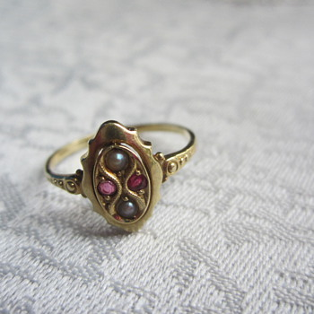 I never wear this one - but it reminds me of my great-aunt  - Fine Jewelry