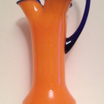 Kralik tango pinched jug / vase - Art Glass