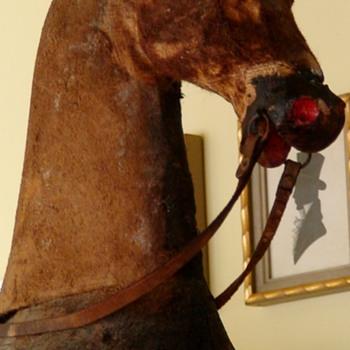 Antique Roller/Rocking Horse - Toys