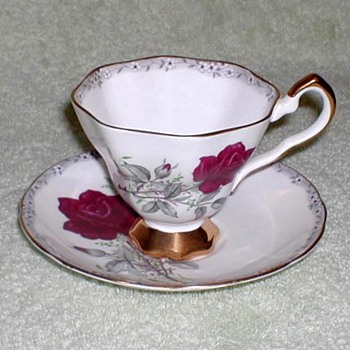 """Royal Stafford"" Bone China Cup & Saucer - China and Dinnerware"