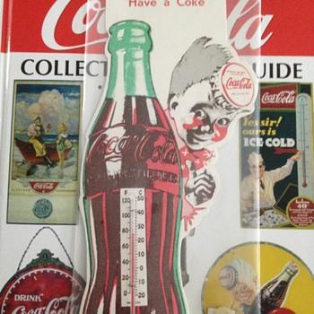 Cardboard Coke Thermometer - Coca-Cola