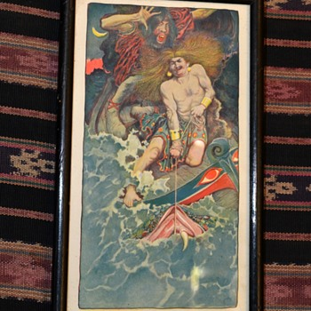 Print from Japanese Mythology