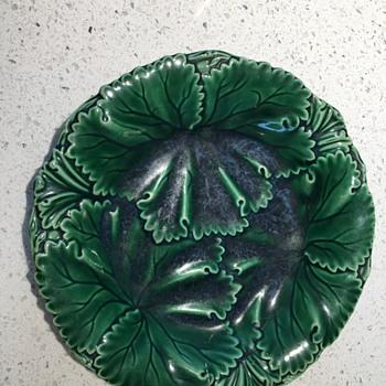 Wedgewood Leaf Design - Pottery
