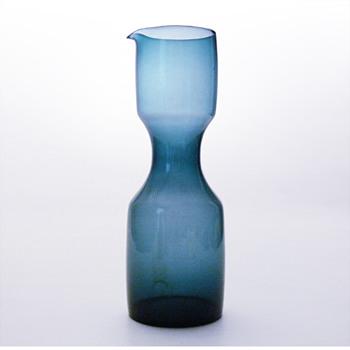 Blue jug, Kjell Blömberg (Gullaskruf, 1950s) - Art Glass