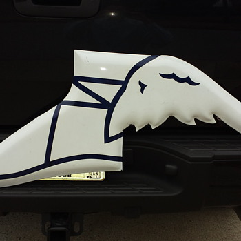 Goodyear Porcelain Winged Foot - Signs