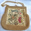 Repost Antique Renaissnce Style Tapestry Bag