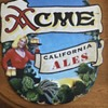 ACME California Ale Metal Sign