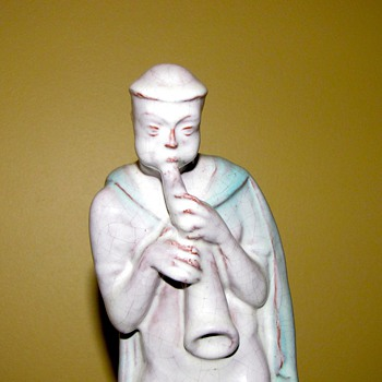 Carl Kahl early Art deco Terracotta Figure - Art Deco
