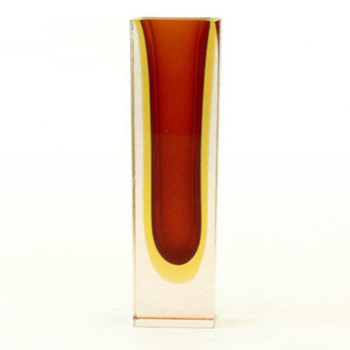 Murano sommerso vase, unknown designer and factory - Art Glass