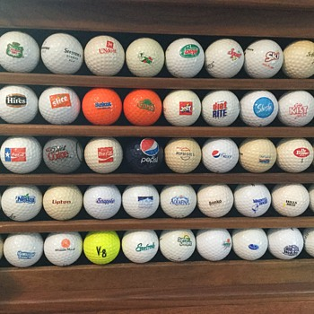 """The Dutchman"" personal golf ball collection. - Sporting Goods"