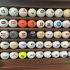 """The Dutchman"" personal golf ball collection."