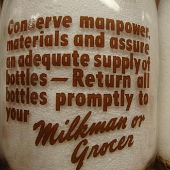 Indianapolis Indiana MBS Dairy Patriotic Slogan #2.......... - Bottles