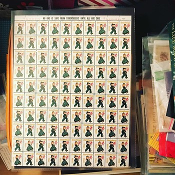 1956 Tuberculosis Cinderella Stamps - Stamps