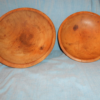 Rough hewn wooden bowls - Kitchen