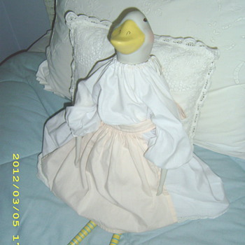 my mother's duck doll - Dolls