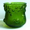 Bohemian Iridescent Molded 'Bubbles' Vase