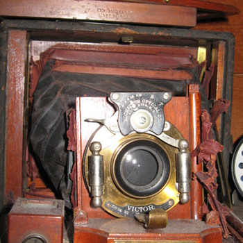 1800's baby stroller, Bing Crosby Record Collection, 1800's Edison Player,1800's Camera
