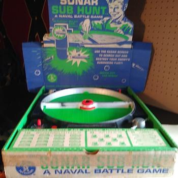 Mattel Sonar Sub Hunt - Games