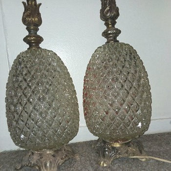 Crystal Pineapple lamps - Lamps