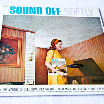 Sound Off  Softly   Vintage Limited Edition LP by Columbia Records - Records
