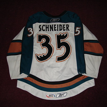 Cory Schneider NHL Debut Vancouver Canucks Jersey - Hockey