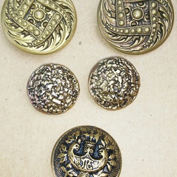 A few buttons  - Sewing