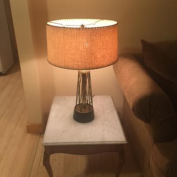 Pair of mid century lamps atomic hairpin - Mid-Century Modern