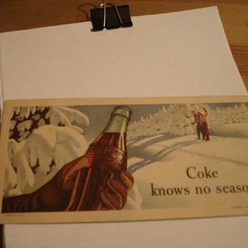 Coke Postacard