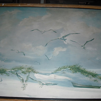 Estate Sale Paintings.. Carolyn Blish and L. Ritter - Fine Art