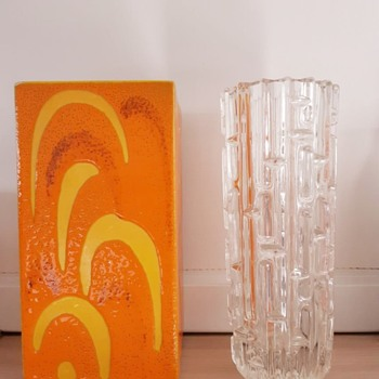 Mid Century Vases - Art Glass