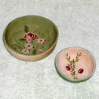 Plymouth Pottery Sparrow House Bowls - Pottery