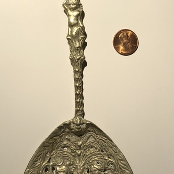 Italian spoon of some kind - Silver