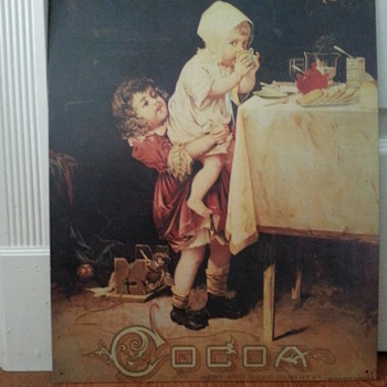 VAN HOUTEN'S COCOA BEST AND GOES FARTHEST - Advertising