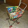 Toy Shopping Cart = Advertising Jackpot!