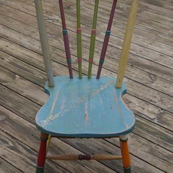 SARGENT Floor & Furniture Enamel color display chair