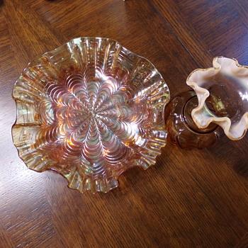 Fenton Peach Glassware?  - Glassware