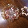 Fenton Peach Glassware?