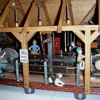 Scale Model Saw Mill - Toys